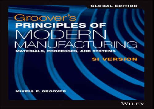 حل تمرین کتاب اصول ساخت و تولید مدرن Groover