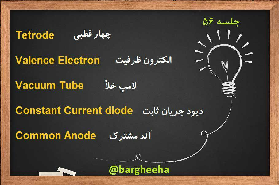 لغات تخصصی برق