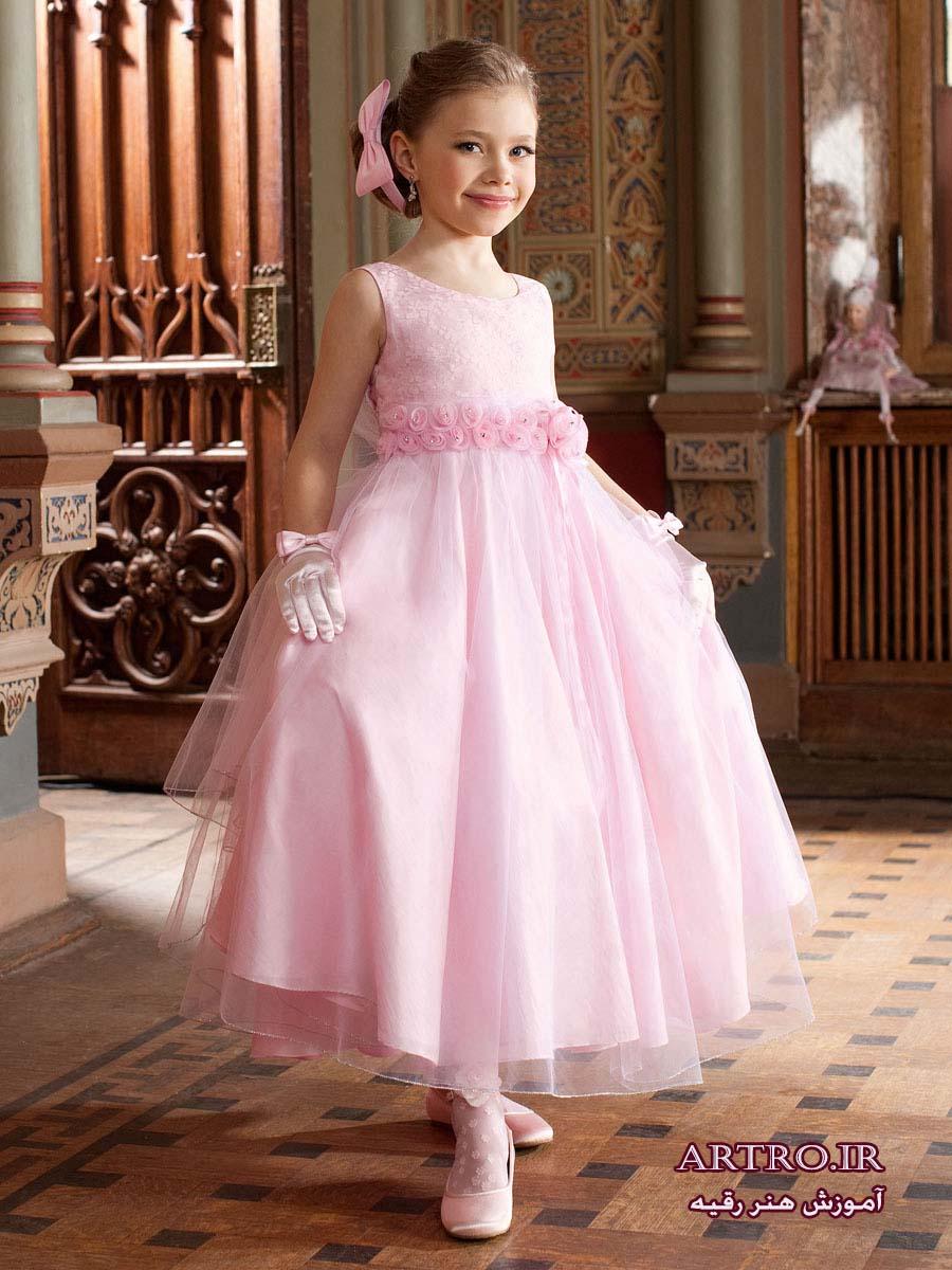 شیک ترین لباس مجلسی دختربچه