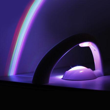 چراغ خواب رنگین کمانی با طراحی زیبا و متفاوت RainBow In My Room