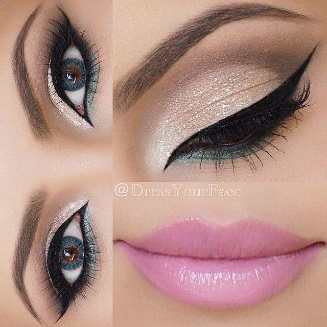 آرایش چشم و لب 97