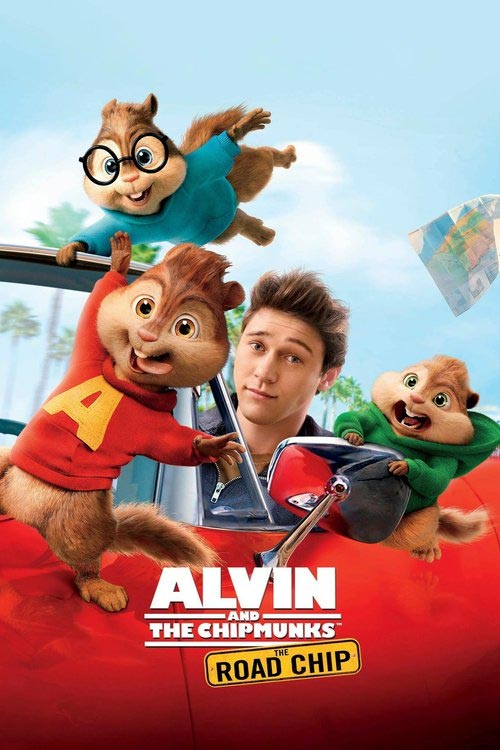 دانلود انیمیشن Alvin and the Chipmunks The Road Chip 4 2015