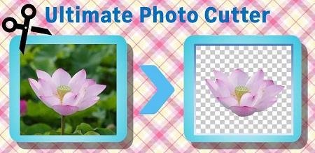 دانلود نرم افزار حذف آسان پس زمینه تصاویر برای اندروید - Photo Cutter Pro 1.0