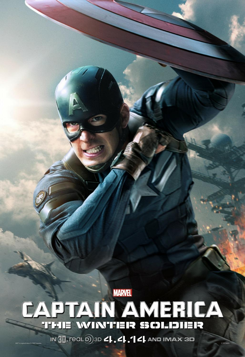 دانلود فیلم Captain America: The Winter Soldier 2014