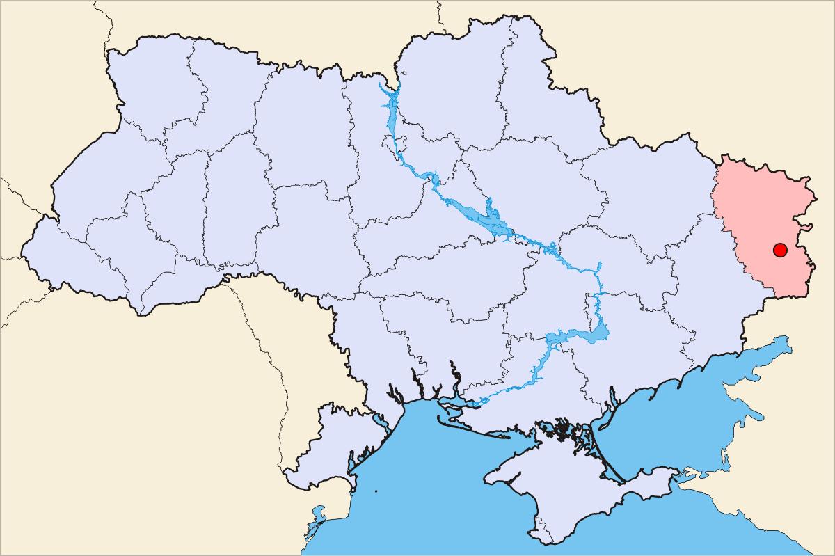 شهر لوهانسک اوکراین