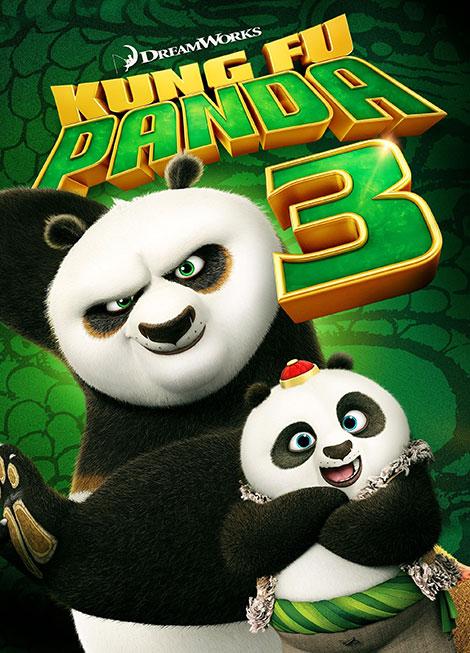 دانلود انیمیشن پاندای کونگ فو کار 2016 kung fu panda 3