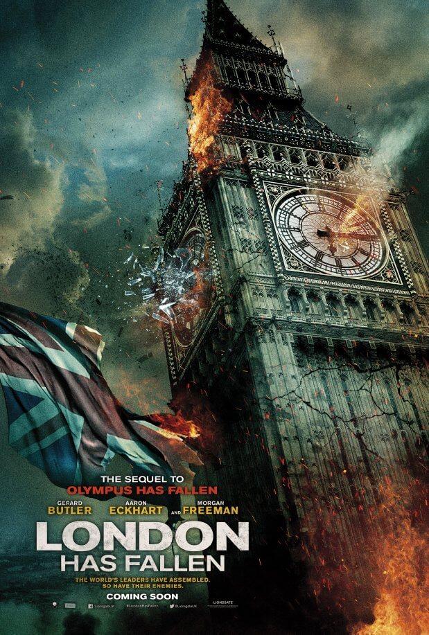 دانلود فیلم لندن سقوط کرده است 2016 London Has Fallen