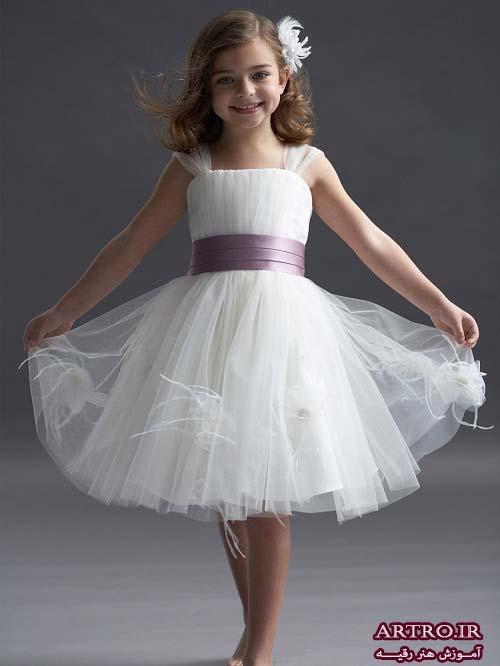 مدل لباس عروس برای دختربچه2019