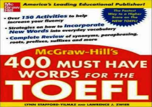 400 words for toefl