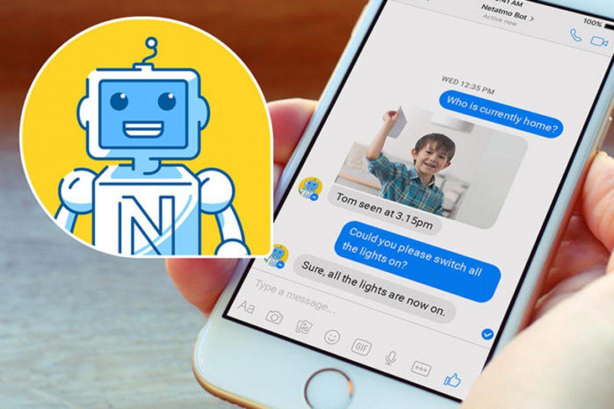 ربات خانگی هوشمند نتاتمو و پیام رسان فیسبوک خانهتان را مدیریت میکنند