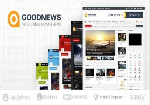 قالب گود نیوز نسخه اصلی GOODNEWS V5.8.3