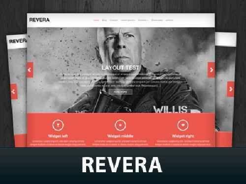 دانلود قالب Revera برای نمایش آسان نمونه کارها