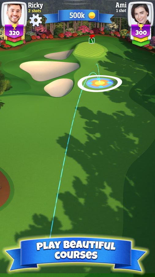 دانلود بازی جنگ گلف Golf Clash