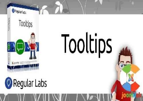 افزونه ایجاد تولتیپ زیبا Regular Labs Tooltips 7.0.9 برای جوملا