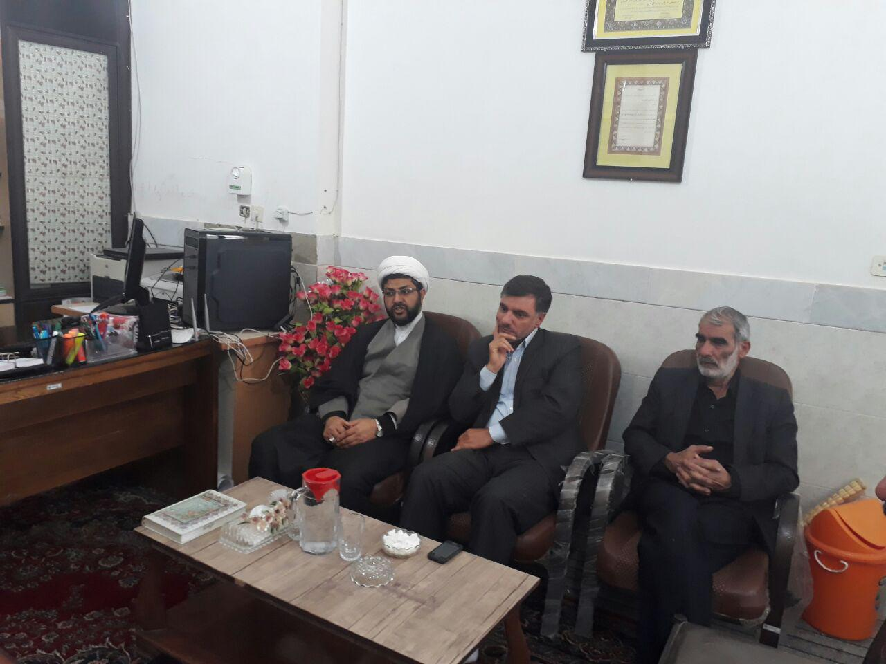 جلسه هیات امناء امامزاده سیدمحمد(امروز)