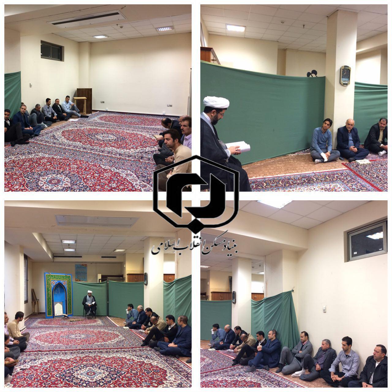 برگزاری سلسه نشست های هفتگی و تفسیر سوره حجرات توسط حاج آقاهاشمی، قائم مقام نماینده ولی فقیه در بنی