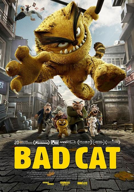 دانلود انیمیشن گربه بد 2016 Bad Cat