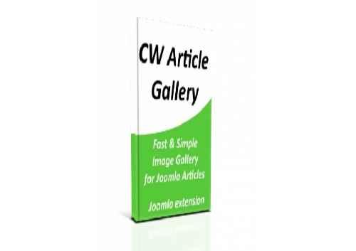 افزونه نشان دادن یک مطلب جوملا در چند مجموعه CW Article Gallery1.1.14 برای جوملا 3