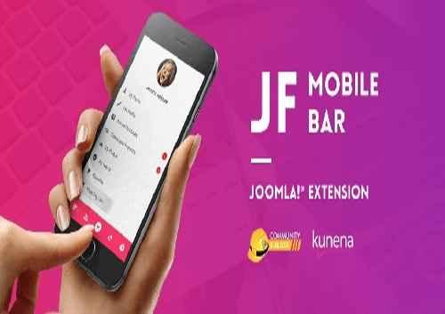 افزونه ساخت پنل موبایلی JF Mobile Bar 1.0 برای جوملا 3