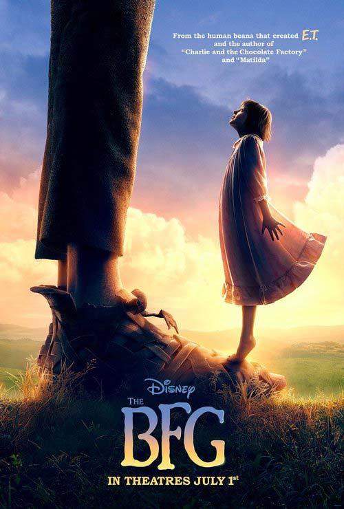 دانلود فیلم غول بزرگ مهربان BFG 2016