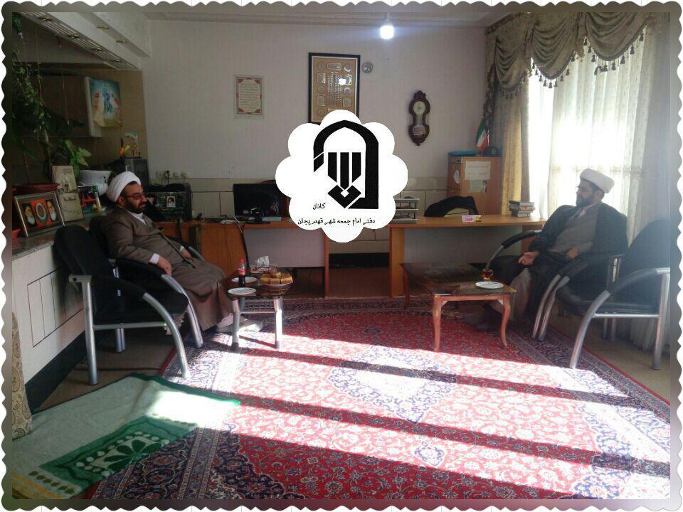 جلسه امام جمعه محترم شهر قهدریجان با حاج آقا جعفرزاده