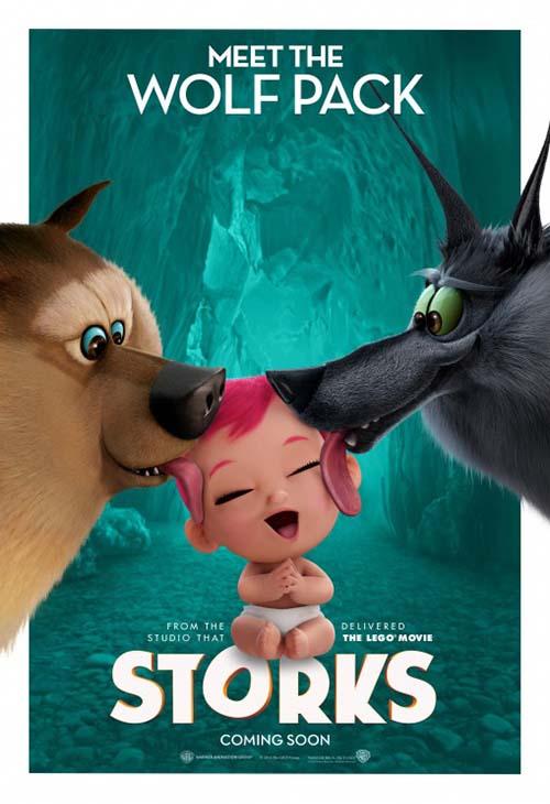 دانلود انیمیشن لک لک ها 2016 Storks