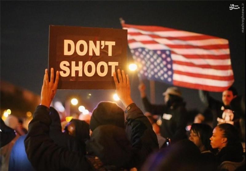 پلیس امریکا چند نفر را با گلوله  میکشد