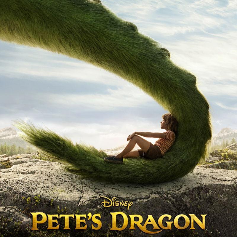 دانلود فیلم اژدهای پیت 2016 Pete's Dragon
