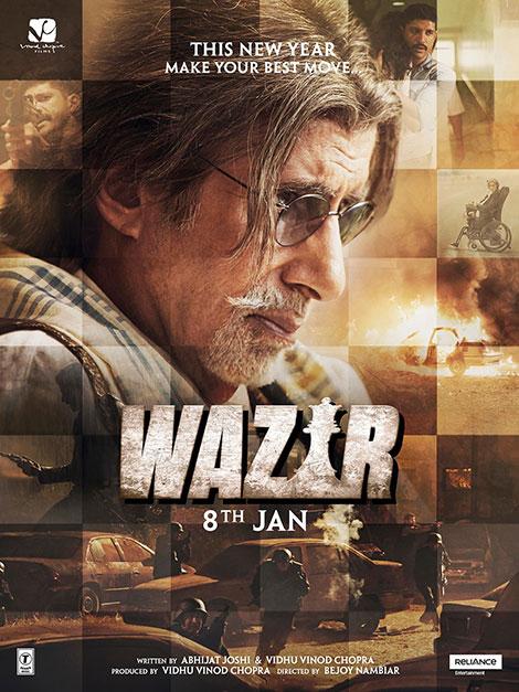 دانلود فیلم وزیر Wazir 2016