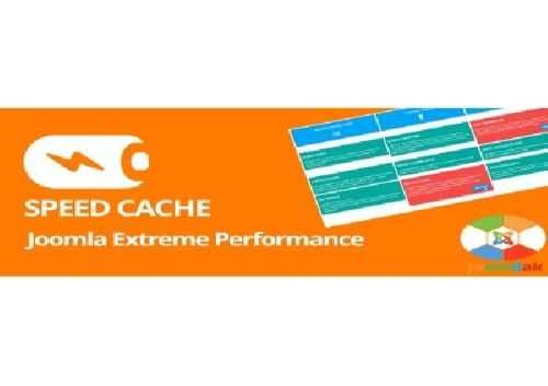 افزونه مدیریت کامل بر روی کش سایت جوملا Speed Cache 1.0.3 برای جوملا 3