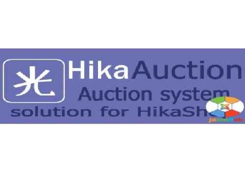 افزونه ساخت سیستم مزایده آنلاین جوملا HikaAuction 1.2.1 برای جوملا 3_2.5_1.5