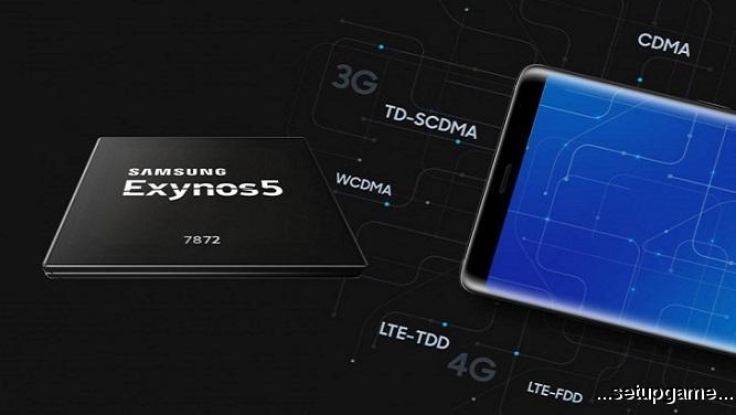 سامسونگ تراشه Exynos 7872 را معرفی کرد؛ فراتر از یک میانرده با شش هسته پردازشی