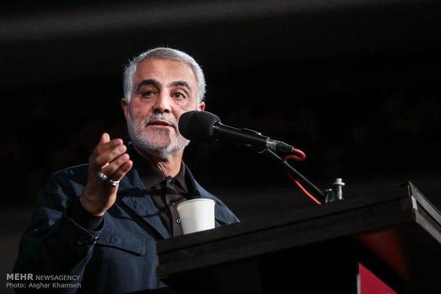 دفعا سردار قاسم سلیمانی از رئیس قوه قضائیه