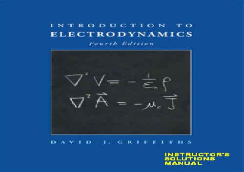 حل تمرین کتاب مقدمه ای بر الکترودینامیک گرفیتس ویرایش دوم