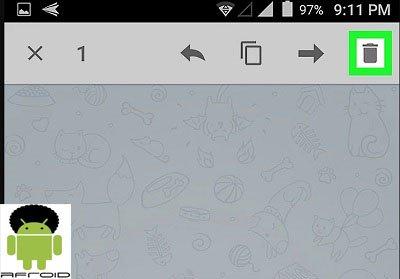 مسنجر تلگرام روش حذف پیام