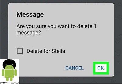 حذف رایگان پیام تلگرام