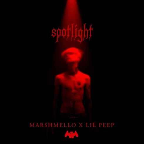 دانلود آهنگ Spotlight از Marshmello (مارشملو) و Lil Peep