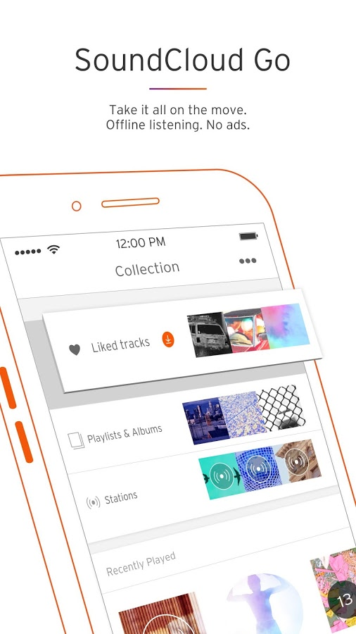 دانلود رایگان برنامه ساندکلود SoundCloud - Music & Audio
