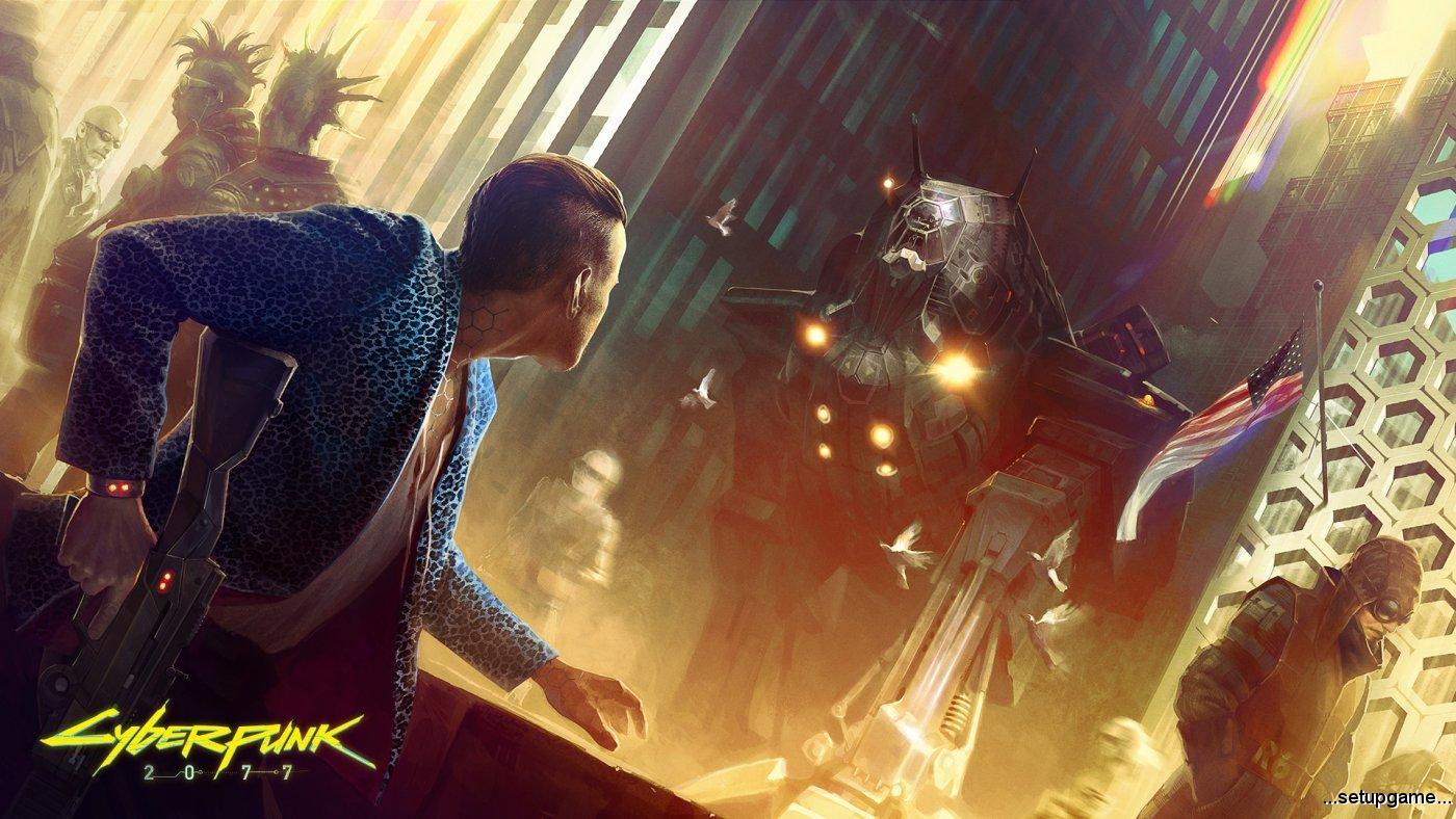حضور Cyberpunk 2077 در E3 2018