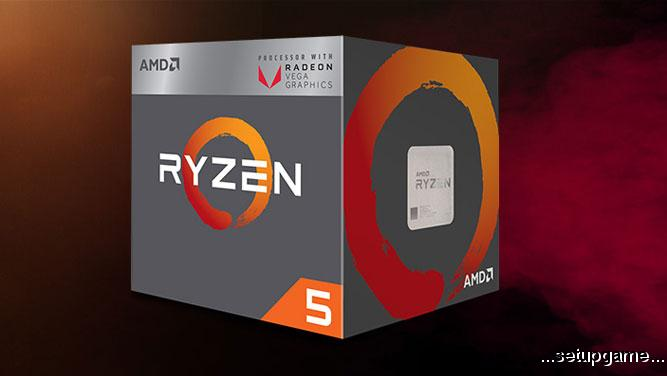 پردازندههای AMD Ryzen 5 2400G و Ryzen 3 2200G معرفی شدند؛ باارزش و مقرونبهصرفه