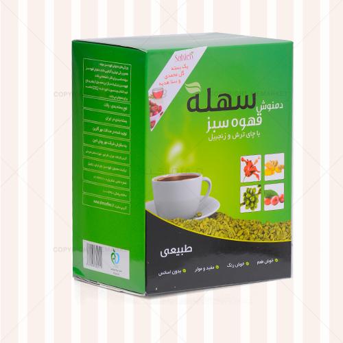 دمنوش لاغري مهدارو -  قهوه سبز سهله