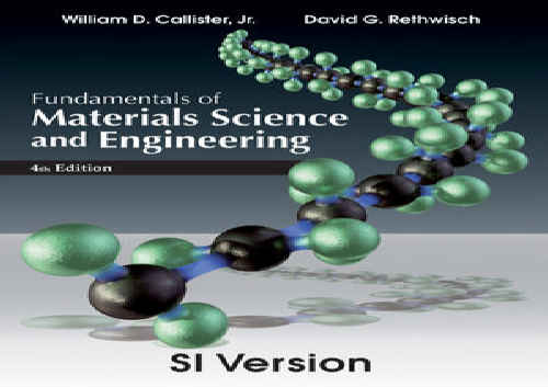 حل تمرین کتاب مبانی علم و مهندسی مواد Callister و Rethwisch