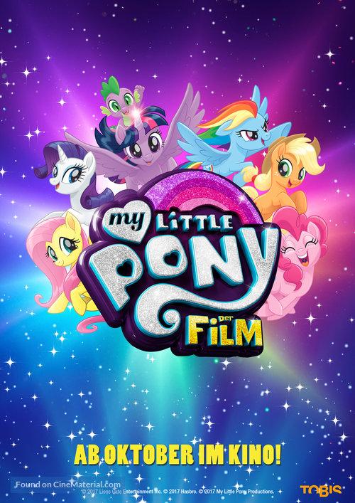 دانلود انیمیشن My Little Pony: The Movie 2017
