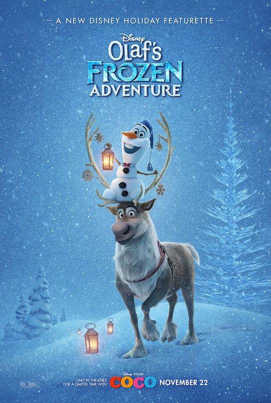 دانلود انیمیشن فروزن 3 Olaf's Frozen Adventure 2017