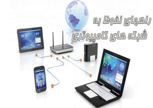 راههای نفوظ به شبکه های کامپیوتری