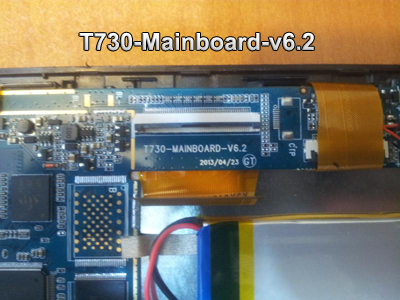 رام تبلت چینی T730-Mainboard-v6.2