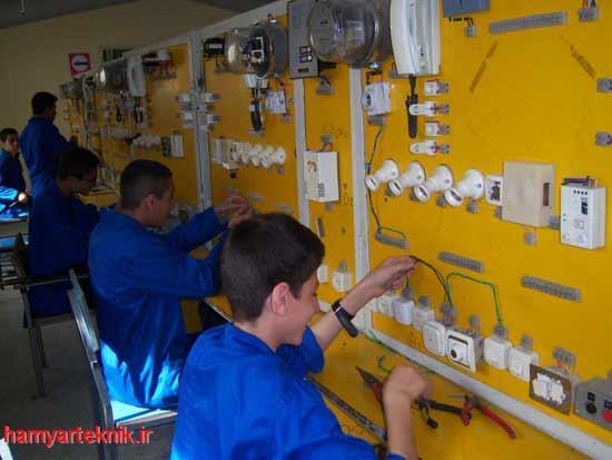 دوران کارآموزی در رشته الکتروتکنیک