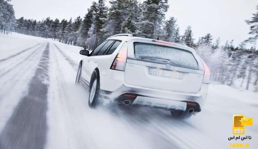 آموزش گام به گام رانندگی در برف و جاده های لغزنده