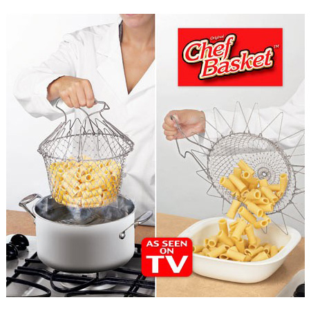 خرید سبد آشپزی شف بسکت چندکاره بسیار کار آمد برای هر آشپزخانه