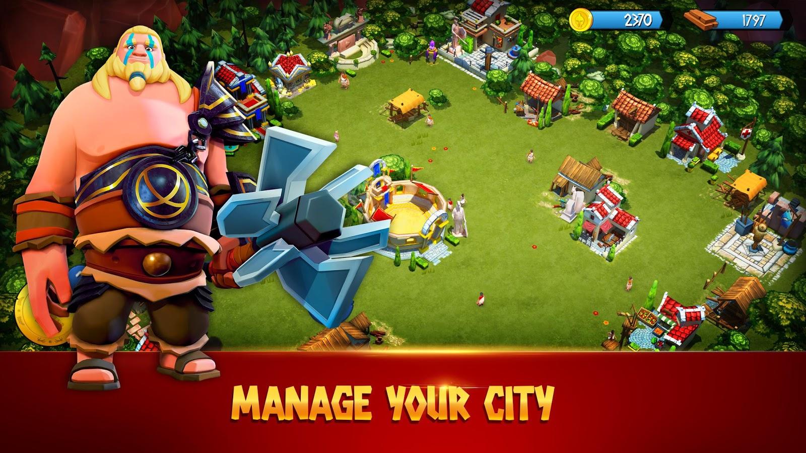 دانلود بازی گلادیاتور های قهرمان : جنگ های قبیله ای Gladiator Heroes: Clan War Games